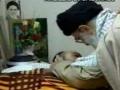 دیدار با خانواده جانباز محمد طاهر زاده - Visit of Rahbar Sayyed Ali Khamenei - Farsi
