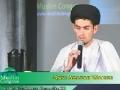 [MC 2011] Quran Recitation by Qari Abazar Wahidi - Saturday Morning - Arabic English