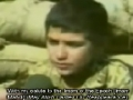 *AMAZING* Words by Iranian Child Soldier - Farsi sub English
