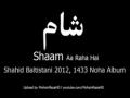 SHAAM ARAHA HAI شام l Shahid Baltistani Noha 2012 l حامد - Urdu