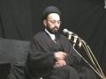 [2] H.I. Sadiq Raza Taqvi - نظام کائنات میں ھدایت اور مظھر ھدایت - Muharram 1433 - Urdu