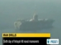 Iranian Troops Track Record Video of US Aircraft Carrier - English