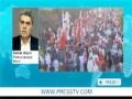 Protesters at Bahrain embassy in Washington DC against Al Khalifa monarchy - Mar2012 - English
