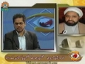 [7 April 2012] H.I. Ameen Shaheedi on Gilgit Baltitan Issue - Andaze Jahan - Sahar TV - Urdu