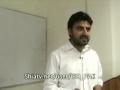 Br. Nasir Shirazi - Imposed Cultural war - حضرت فاطمہ زہرا س بہترین مدافع - May 9 2012 - Urdu