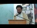 H.I. Sadiq Raza Taqvi - بچوں اور والدین کیلئے ضروری ہدایات - May 13 2012 - Urdu