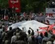 Iranians rally against Saudi merger plan - 18MAY12 - Farsi