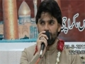 Shadman Raza Reciting in Jashan Imam Hussain(a.s) Mehfil-e-Murtaza  23-06-2012  - Urdu
