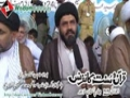 [1 July 2012] [قرآن و سنت کانفرنس] Interview H.I. Syed Shafqat Shirazi - Sec. Foreign affairs MWM - Urdu