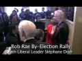Anti-War Canadians confront Dion and Rae on Afghanistan War - English