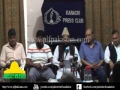 PLF Press Conference Karachi - 16 July 2012 - Urdu
