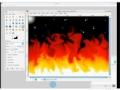 GIMP Tutorial - Make a realistic flame - English