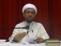 [Ramadhan 2012][8] Optimism with Allah 3 & Will of Imam Ali AS to Imam Hasan AS - H.I. Hyder Shirazi - English