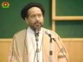 H.I. Jaan Ali Shah Kazmi - Shaheed Arif Hussaini barsi program 2006 - Urdu
