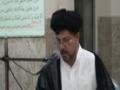 [11] تفسیر سورة حج - H.I. Baqir Abbas Zaidi - 11 Ramazan 1433 - Urdu