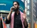 [AL-QUDS 2012] Times Square, New York USA : Cyrus McGoldrick, CAIR - 17 August 2012 - English