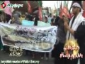 احتجاجی مظاہرہ - 8 شوال - Destruction of Jannatul Baqi - 27 August 2012 - Karachi Press Club - Urdu