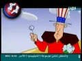 Iranian cartoon Uncle Sam and his ZOG NWO Bubbles - All Languages