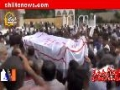 [06 Sept 2012] Namaz e Janaza of Shaheed Mukhtar Azmi and his Son Muhammad Baqir - Urdu