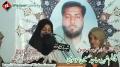 چہلم شہید ساجد موسوی - Speech Sister of Shaheed Sajid Hussain Moosvi - 22 September 2012 - Urdu