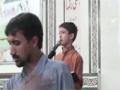 [سویم شہیدسعید حیدر زیدی] Noha Br. Ahmed Nasiri - Ai Khaak ke zarrun - 13 Nov 2012 - Urdu