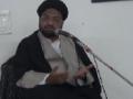 [01] Muharram 1434 - Asr-e-Hazir Mein Muhabbat-e-Rasool (saws) Ke Taqaze - Moulana Taqi Agha - Urdu