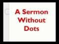 A Sermon without DOTS by Imam Ali (a.s) - English