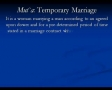 Temporary Marriage in Islam - Mutaa - English