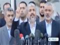 [07 Dec 2012] Hamas leader Khaled Mashal visit Gaza strip - English