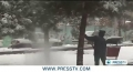 [16 Dec 2012] Heavy snow blankets Iranian cities - English