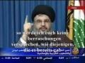 Sayyed Hassan Nasrallah - große Überraschung - Arabic Sub German
