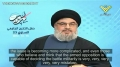 [ENGLISH] Hezbollah Leader Sayyed Nasrallah Directs a Message to Al-Qaeda in Syria - Arabic sub English