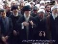 اقامه نماز توسط رهبر معظم انقلاب بر پیکر آیت الله تهرانی - Farsi