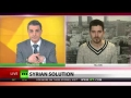 Assad War in Syria between nation and terrorists - English