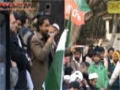 [12 January 2012] Lahore Dharna - Abbas Raza Abbas Poet - Urdu