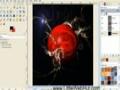 GIMP - Stormy Planet - English