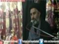 6th Muharum 1434 Majlis Moulana Shafqat Ali Naqvi Imam Bargah Aleymohammed - Urdu