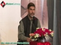 [34th Anniversary Islamic Revolution in Iran] Brother Mubashir Zaidi - Tareekh wa Awamile Inqilab - 10 Feb 2013 - Urdu