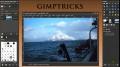 GIMP - See Through Transparent Text Effect - English