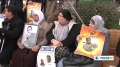 [01 Mar 2013] Activists stage sit in to voice solidarity with Palestinian hunger striking inmates - English