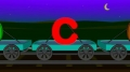 Lowercase abc Train: Alphabet for Kids - English