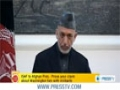 [18 Mar 2013] Karzai presents proofs of US covert ties with Taliban - English