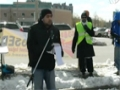 Toronto Protest For Sibte Jafar- Br. Abbas Baqri Reciting Munqabat (Jab Imam Aain Gey) 23Mar2013 - English