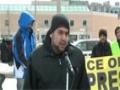 Toronto Protest For Sibte Jafar- Br. Kamran Rizvi Reciting Noha 23Mar2013 - English