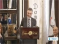[25 Mar 2013] Syrian national dialogue forum starts in Damascus - English