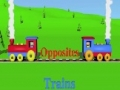 Opposites: Trains - Learning for Kids - English