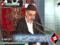 [Majlis e Chelum Shaheed Ustad Sibte Jaffer Zaidi] - Speech By H.I Murtaza Zaidi - 20 April 2013 - Urdu