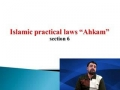 [06] Islamic Practical Laws - Ahkam - Prayer - English