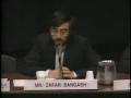 1989-Debate Panel on Israel, Zafar Bangush, Norman Finkelstein and Wolf Blitzer Part 4 - English