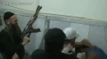 Video Surfaces of Salafist Sheikh Ahmad al-Aseer Beating Up Defenseless Lebanese Man - Arabic